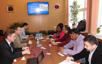 117. During the visit to MPEI of foreign recruiting companies