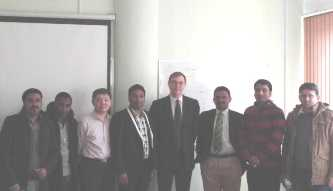 118. During the visit to MPEI of foreign companies