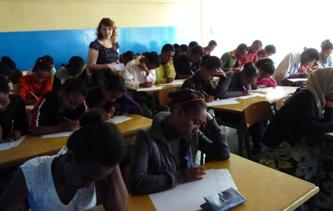 146. During competition in mathematics in Addis-Abeba