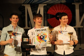 167. Winners of SpeedCubing Championship MPEI Open 2013