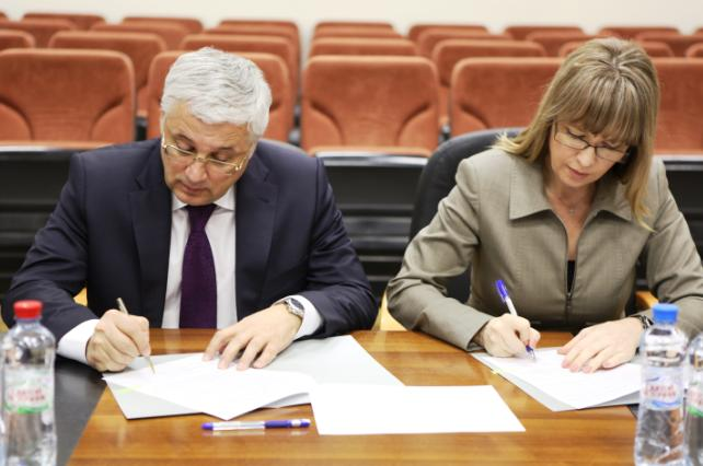 "178. Signing the Agreement on creation of Consortium ""It`s time to study in Russia!"""