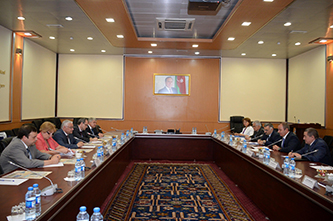 201. MPEI working group negotiations at the Ministry of Communications and High Technologies of the Azerbaijan Republic