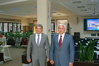 "206. Director of Training center of ""Baku Electrical Distribution Grid"" Mr. Vugar Aliyev and MPEI Rector Nikolay D. Rogalev"