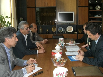 23. Negotiations with Irainan delegation at MPEI Division of International Relations
