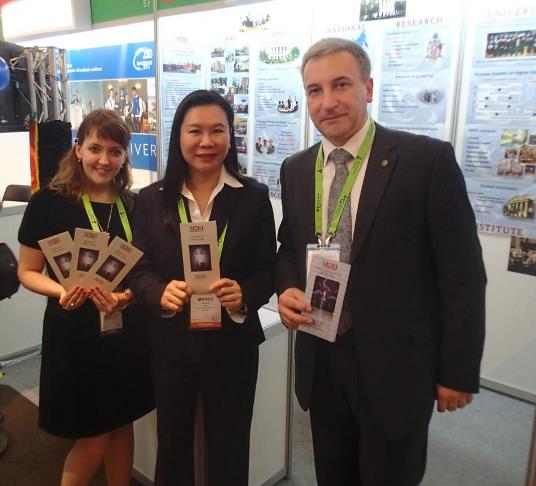 236. MPEI representatives with Director of QS ASIA Ms. Mandy Mok.
