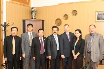 63. Chinese delegation from Jinan University in MPEI