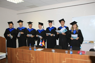 "67. Graduates of the mutual educational program ""German Engineering Faculty of NRU MPEI"" of 2011"