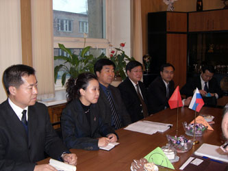 7. Delegation of Harbin Technical University (P.R. China) in MPEI