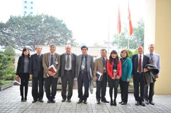 75. MPEI delegation visit to the Ministry of Education and Specialist Training of Vietnam