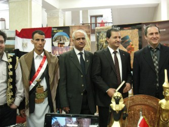 78. Advisor of Arab Republic of Egypt Embassy in culture Mr. Osama El-Serwy, Head of Yemen students league of Russia Mr. Noman Adel Salem, Head of MPEI Council of foreign students Mr. Zayed Saleh Salem Ali and MPEI Vice-Rector on international relations V.N. Zamolodchikov