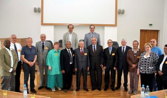 84. Meeting of MPEI alumni with leaders of our university