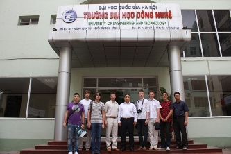 85. MPEI students in Vietnam State University