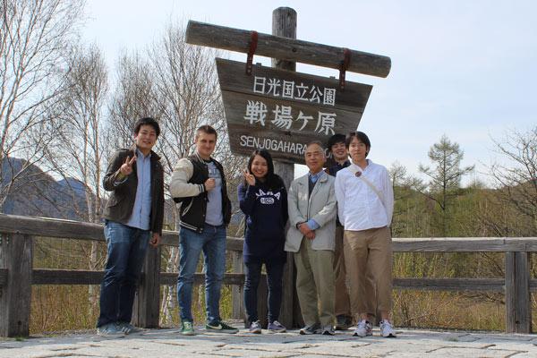 Аспирант Александр Акентьев на стажировке в Японии