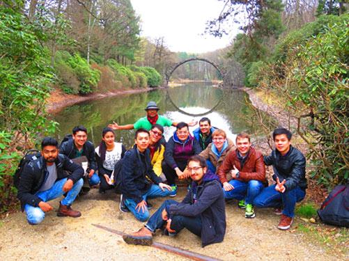 Поездка стужентов МЭИ в Дрезден